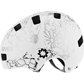 UVEX kid 3 Helmet white flower